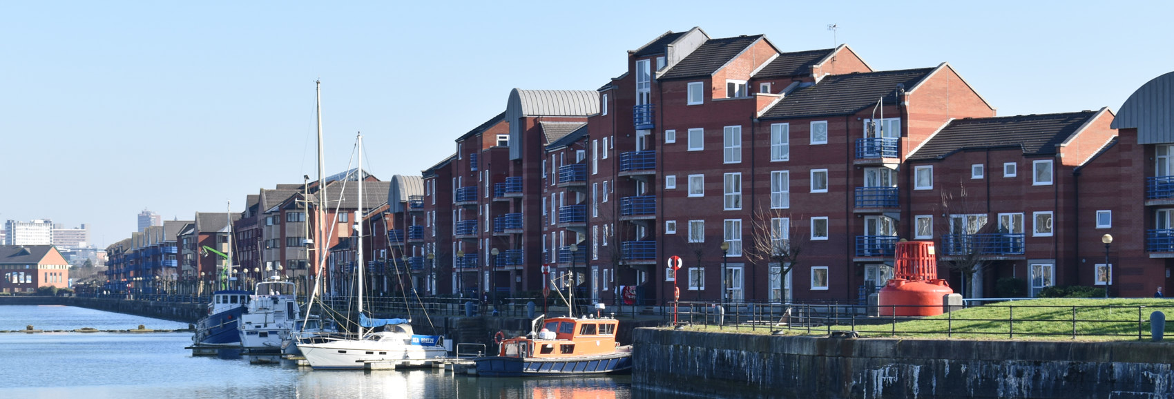 Preston Docklands Residential Area